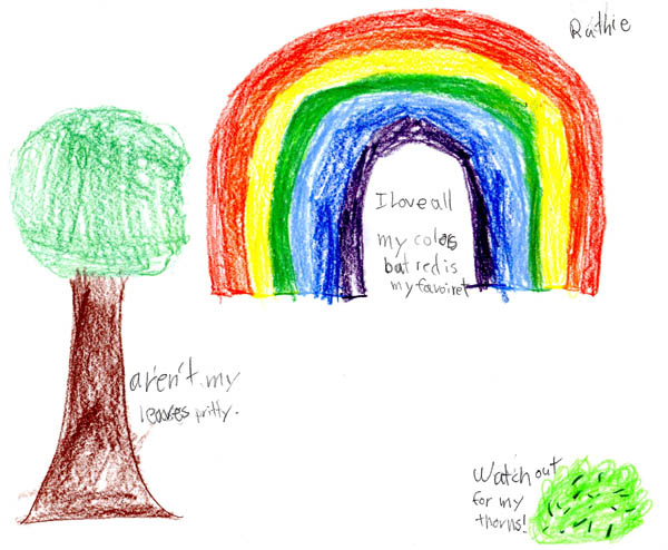Rainbow, by Ruthie