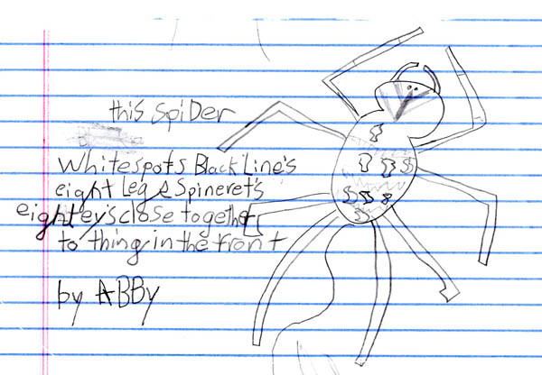 This Spider, by Abby